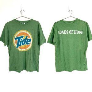 🔥2009 NWOT Junk Food Tide Distressed shirt L Vtg